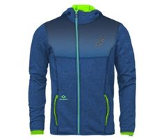 Get Indigo with Neon Designer Hoodie with wholesale men's hoodies manufacturer, Alanic Clothing.