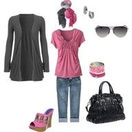 Polyvore Casual Outfits | Casual outfits-spring