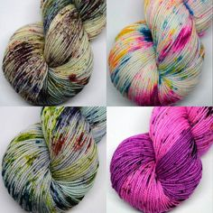 Today is all about the speckles! We have four new colorways in today's shop update...something for everyone.  I hope you love them and have a fabulous Friday dear chickies!  #shopupdate #etsyshop #etsy #specklesaresohotrightnow #speckledyarn #yarn #yarnporn #yarnobsessed #weloveyarn #knitstagram #igknitters #knittersofig #knittersofinstagram #crochetersofinstagram #igcrocheters #crochetersofig #weaversofig #weaversofinstagram #happyfriyay by weechickadeewoolery