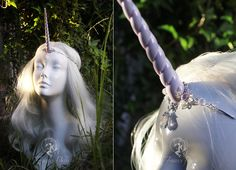 Pearl Unicorn Circlet by Firefly-Path