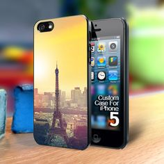 TP233 eifel tower Iphone 5 case | TheYudiCase - Accessories on ArtFire