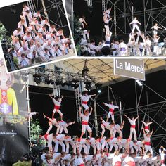 la merce festival in barcelona, spain