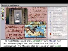 Phoenicia and Greece (Civilisation & Writing Part 7)    http://www.zaneeducation.com - Learn some of the important events that happened in world history at the time of the first civilizations, between about 4000 and 600 B.C. Identify major literary forms used in ancient times, including epics, stories, songs, lyric poems, legends, and dramas.