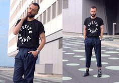 Ray Ban Glasses, Eyexcon Paris T Shirt, Alfex Watch, H&M Pants