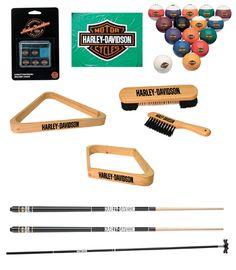 Harley-Davidson® ROADHOUSE™ Collection Billiard Starter Kit