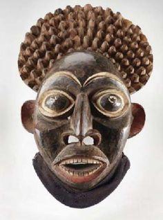 Cameroon Grasslands mask from Koller Walu Auction A14