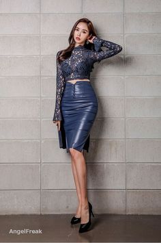 Skirts For Women – My WordPress Website Medieval Dress, Sexy Skirt, Dress Skirt, Skirt Fashion, Fashion Outfits, Leder Outfits, Leather Dresses, Leather Skirts, Sexy Asian Girls