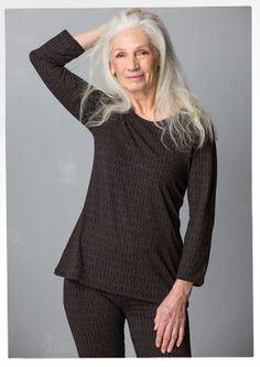 "Top ""Barbro"" en lyocell/élasthanne–Barbro–GUDRUN SJÖDÉN – Kläder Online & Postorder"