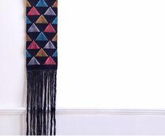 Triangles / Hélène Lefeuvre / textile / weaving