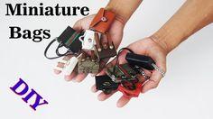 tutorial: miniature handbags