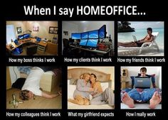 When I Tell People I Work from Home funny game, tech, internet, pc related pictures, gamers, gaming, geek humor, pc geeks, computer humor, games, video games, pc games, game shop, gamer, internet humor, Tech humor, pc, internet, Tech, geek, nerd, internet geek, comic book, gadget, gamer geek, pop culture, funny, humor