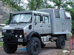Unimog Camper - go where no van has gone before!