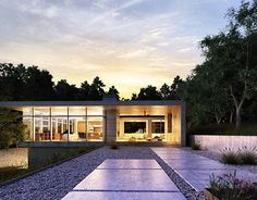 """Check out new work on my @Behance portfolio: """"EVENING EXTERIOR"""" http://be.net/gallery/54599817/EVENING-EXTERIOR"""