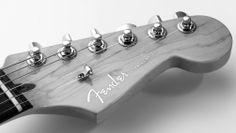 Fender Stratocaster Deluxe Headstock