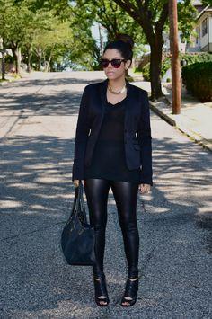 A LOVE AFFAIR WITH FASHION  BLACKOUT- Inspired by Kim Kardashian Wearing  All Black 1f5b2b8c6bd