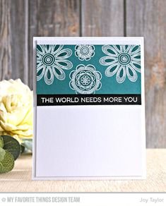 HelloThe day is here for you to purchase the MFT March Card Kit, woohoo!!Today the designers get to share more inspiration for you, so as soon as you get your kit you will have loads of creations to look back on and get you started..For me today, I am sharing a card that is a…
