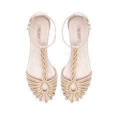 CHAIN SANDAL - Shoes - Woman - ZARA Germany