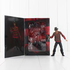 $22.00 (Buy here: https://alitems.com/g/1e8d114494ebda23ff8b16525dc3e8/?i=5&ulp=https%3A%2F%2Fwww.aliexpress.com%2Fitem%2F2016-NECA-A-Nightmare-on-Elm-Street-Freddy-Krueger-30th-PVC-Action-Figure-Collectible-Toy%2F32684069011.html ) 2016 NECA A Nightmare on Elm Street Freddy Krueger 30th PVC Action Figure Collectible Toy for just $22.00