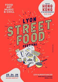 Michael Sallit, Lyon Street Food Festival : Food Art Music & Chill