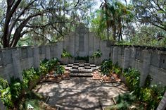 """<b><a href=""""http://artandhistory.org/chapel-mayan-courtyard/"""">Mayan Courtyard</a></b><br> 231 W. Packwood Ave., Maitland 