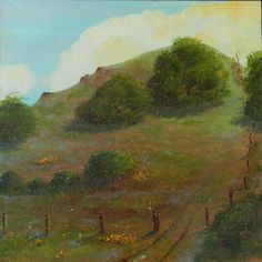 Hill landscapes Moraga Hills California by KentJacobsonArtist