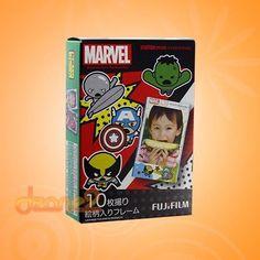 FujiFilm Fuji Instax Mini Instant Film 7 7s 8 20 25 50s 50i Marvel