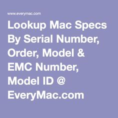 cell phone serial number lookup