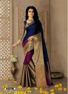 Checkout this latest Sarees Product Name: *New arrivals Premium saree* Sizes:  Free Size Country of Origin: India Easy Returns Available In Case Of Any Issue   Catalog Rating: ★4.1 (965)  Catalog Name: Myra Fabulous Sarees CatalogID_3279097 C74-SC1004 Code: 992-25398811-