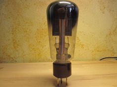 1 TUBE 1562 PHILIPS HOLLAND = G715 98mA (40mA = 100%) POWER VACUUM RECTIFIER  #Philips