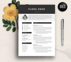 Resume Template | CV Template - 15 by GResume on @creativemarket