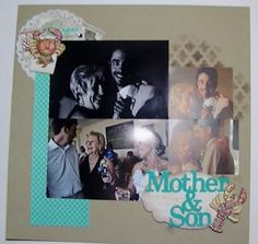 scrapping an album for a friend- visit my blog for details and info on how to contact me to get a on-of-a kind album made just for you