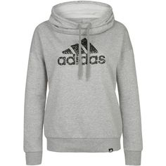 adidas Performance TOMBOY Sweatshirt medium grey ($56) ❤ liked on Polyvore featuring activewear, dark gray, adidas, adidas sportswear and adidas activewear