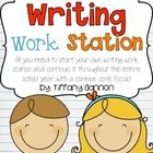 Everything you need to launch your own Common Core Writing Workstation!