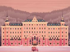 Grand Hotel Budapest My Image for the Wes Anderson themed show 'Unpaid Interns' at NOFUN Gallery Mac Wallpaper, Laptop Wallpaper, Grand Budapest Hotel Poster, West Anderson, Summer Drawings, The Villain, My Images, Illustrations Posters, Illustrators