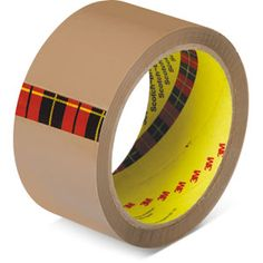 Brown Tape — This tape improves performance for sealing and protecting packages.
