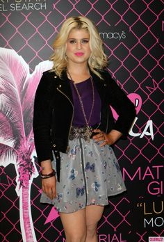kelly osbourne fashion police outfits | Kelly Osbourne at Material Girl's Lucky Stars Model Search