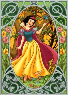 *SNOW WHITE ~ 1937....Disney Princesses - disney-princess Fan Art