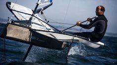 Ca Moth pour Nicolas Lunven ! #Moth #Sail #SailingDay
