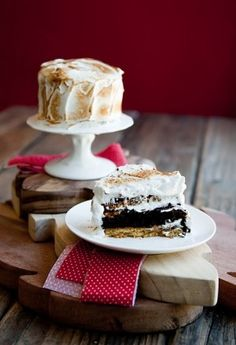 s'mores cake. (and gorgeous photography.)