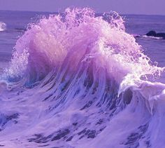 Purple & Blue Wave