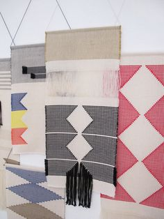 Handwoven wall hanging/ Tapestry/ Fiber art/ Weaving/ by LaTorna, $105.54