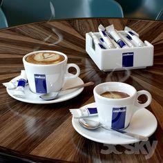 Cup of Lavazza coffee - Espresso lifestyle/culture - Kaffee Espresso Drinks, Espresso Cups, Espresso Coffee, Nespresso, Good Morning Coffee, Coffee Time, Coffee Cup, Starbucks Shop, Nitro Coffee