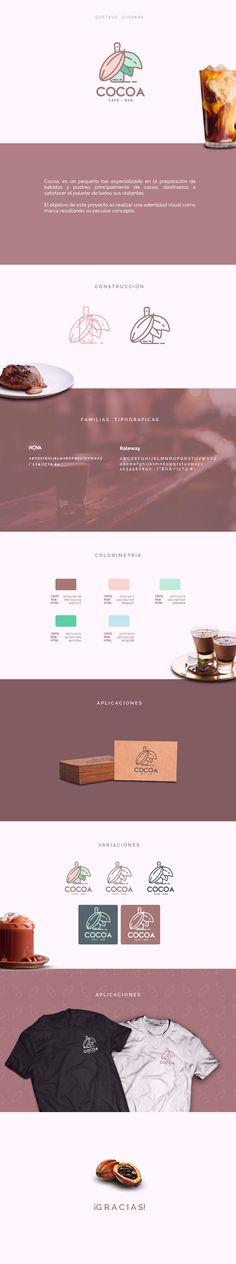 "Echa un vistazo a mi proyecto @Behance: ""COCOA - Identidad Visual - Café Bar"" https://www.behance.net/gallery/57398705/COCOA-Identidad-Visual-Caf-Bar"
