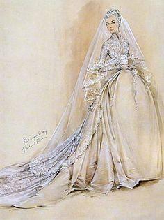 Helen Rose Brautkleid für Grace Kelly