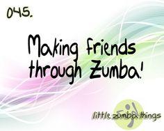 Zumba buddies!