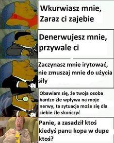 Dankest Memes, Funny Memes, Jokes, Reaction Pictures, Funny Pictures, Funny Lyrics, Polish Memes, Weekend Humor, Past Tens