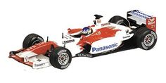 1-43 Scale 1:43 Minichamps Toyota TF03 - C.Da Matta Toyota TF03 That powered the Cart 2002 Champion in his first year in F1 http://www.comparestoreprices.co.uk/formula-1-cars/1-43-scale-143-minichamps-toyota-tf03--c-da-matta.asp