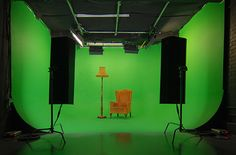 Studio 3 is an green screen film studio with a 'U' shaped cyc wall available for hire in London. Perfect for shooting talking heads and pack shots. Lighting Diagram, Editing Suite, Set Design Theatre, London Films, Screen Film, Chroma Key, Dream Studio, Film Studio, Photo Lighting