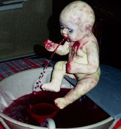 baby punch fountain