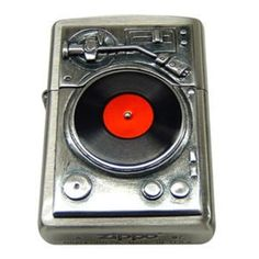 "Rare Zippo Lighters Music ""Turn Table Metal (03/08/2009)"